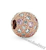 Authentic Pandora Charm 781286  Rose Gold  Cosmic Stars Clip