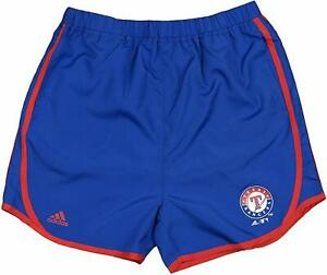 Adidas MLB Youth Girls Texas Rangers Lightweight Charger Shorts