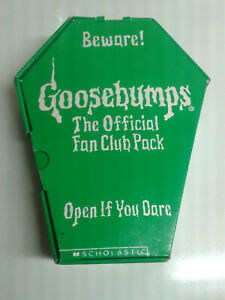 Goosebumps Fan Club Coffin RARE with tons of extras
