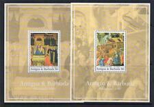 ANTIGUA & BARBUDA MNH 1991 MS1603 CHRISTMAS
