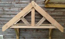 Oak Front Door Canopy & Long Gallow Brackets