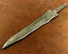 Handmade Damascus Steel Double Edge-Kriss Blank Blade-Knives B23