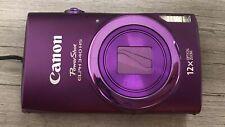 Canon PowerShot ELPH 340 HS Purple Digital Camera