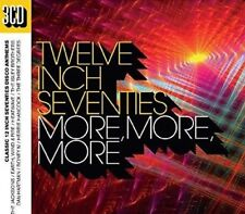 Various - Twelve Inch 70s: More More More BRAND NEW SEALED 3CD