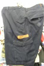 mens THOR NAVY BLUE BUTTON FLY CARGO shorts 34 UTILITY POCKETS thorix  CLEAN