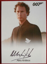 JAMES BOND - For Your Eyes Only - ALKIS KRITIKOS as Santos - Autograph Card