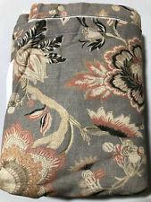 Pottery Barn Emmaline Print Bedskirt Full Cool Multi New