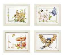 Lanarte-Counted Cross Stitch Kit-Quatre Saisons-PN-0007953