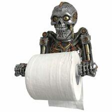 Humanoid Helper 23.5cm Skeleton Toilet Roll Holder steampunk nemesis now
