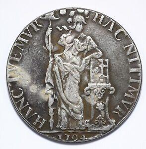 1794, Netherlands, 3 Gulden, VF, Silver, KM# 117, Lot [1566]