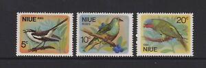 Niue - 1971 , Aves Juego - MNH - Sg 158/60