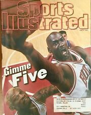 Sports Illustrated - June 5, 1997 - Michael Jordan/Dennis Rodman - Gimme Five