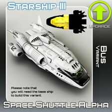 Space Shuttle Alpha Bus Variant for 28-32mm Science Fiction Wargames