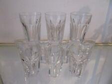 10 gobelets à porto 6cl cristal de Baccarat Harcourt (wine goblets)