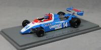 Spark Ensign N180 British Grand Prix 1980 Jan Lammers S5306 1/43 NEW