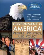Government in America: People, Politics and Policy, Brief Study Edition (9th E..