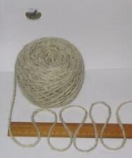 700g 7 balls 100% pure British undyed Swaledale Chunky knitting wool Cream Grey