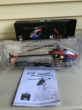 BNF      BNF   XK K130 2.4G 6CH Brushless 3D6G System Flybarless RC Helicopter