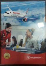Kenya Airways plastic file