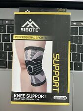 SIBOTE compression elastic knitted knee brace health care support Tear Joint