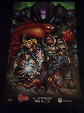 """SDCC 2014 AMERICAN DAD POSTER 11""""x17""""  COMIC CON EXCLUSIVE FOX TBS VERY FUNNY"""