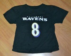 Baltimore Ravens Lamar Jackson Football Jersey T Shirt 5T Youth Kids Nice NFL