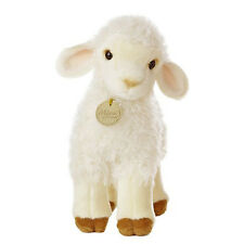"Lovely Lamb Plush Toy 10"" Stuffed Animal Easter Sheep Realistic Soft Huggable"