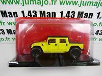 DIV5E 1/43 Test 4X4 Hachettes IXO AM general HUMMER H1 4 doors pick-up
