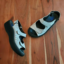 Wolky Ruby White Leather Comfort Sandals Women's 36 US 5.5