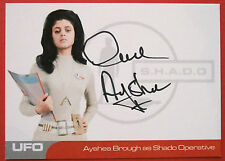 UFO - AYSHEA BROUGH (AB3) - Shado Operative - VERY LIMITED Autograph Card