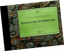 Butler Brothers Merchant Catalog Parlor Furniture 1891 1892 Specialties Rattan