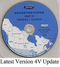 05 06 07 Ford Escape Hybrid Navigation Map NEW Version 4V Cover: Canada & Alaska