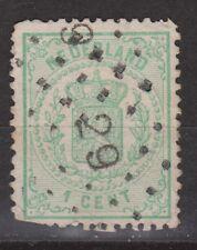 NVPH Netherlands Nederland nr 15 CANCEL DORDRECHT 29 Wapenzegel Pays Bas 1869