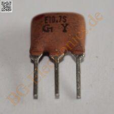 1 x E10.7S CERAMIC FILTERS LOW LOSS, Murata  1pcs