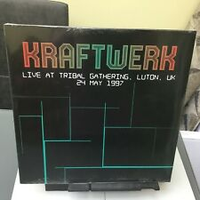 KRAFTWERK. LIVE AT TRIBAL GATHERING.Luton UK 1997 Vinyl