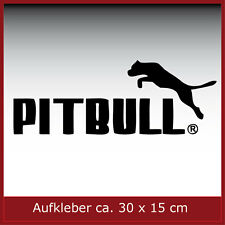 Aufkleber/ Sticker / Dekor / Pitbull / #096