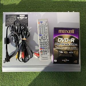 Pioneer DVR-520H-S DVD recorder + 80GB digital video recorder With Remote DVD+R