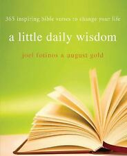 Little Daily Wisdom : 365 Inspiring Bible Verses to Change Your Life by Joel Fot