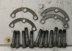 LEXUS TOYOTA SUPRA  REAR DIFFERENTIAL AXLE BOLTS BRACKETS PAIR SC300/SC400