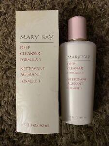 Mary Kay DEEP CLEANSER Formula 3 6.5 fl oz For Oily Skin 1059 NIB