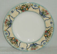 "Villeroy Boch CASTELLINA Soup Bowl Rimmed 9"" Fruits Flowers 2001"