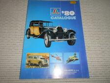 Vintage ITALAEREI Catalogue 1980. Italy, Bologna. Military models, cars etc.