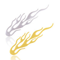 Motorcycle Car 3D Flame Fire Reflective Sticker Vinyl Decal Silver/Gold/Red