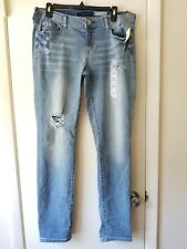 NWT! Women's Aeropostale Low Rise Distressed Skinny Jeans Size 10 R - Ships Free