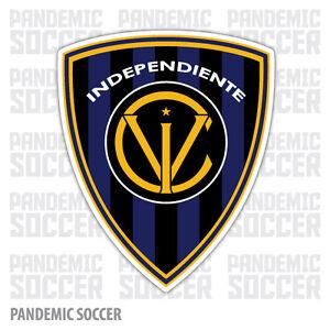(4 Pack) Independiente del Valle Ecuador Vinyl Sticker Decal Calcomania Futbol