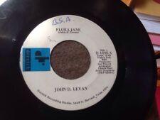John D. Levan Flora Jane/Pardon My Heart 45 Derrick