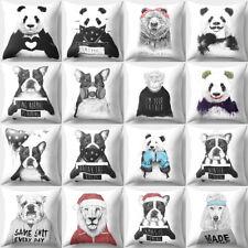 LC_ Creative panda bear Animaux TAIE OREILLER Jeté de lit housse de coussin