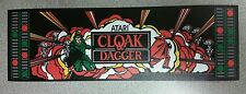 Cloak & Dagger marquee sticker. 3 x 10 (Buy  3 stickers, GET ONE FREE!)