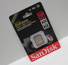 Sandisk 128GB FS extreme U2 SD card for Canon XA35 XA30 XA25 XA20 XA15 XA11 XA10