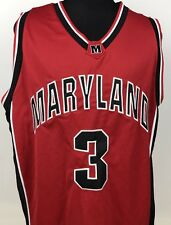 Maryland Terrapins No 3 NCAA Stitched Basketball Jersey Men's XL Colosseum